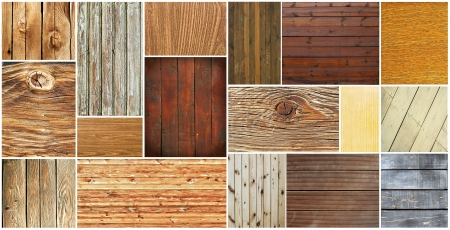 Wood textures collection Stock Photo - 15686446