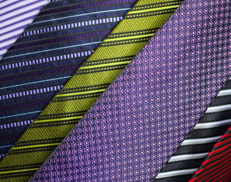 Neck ties macro shot Stock Photo - 15686436