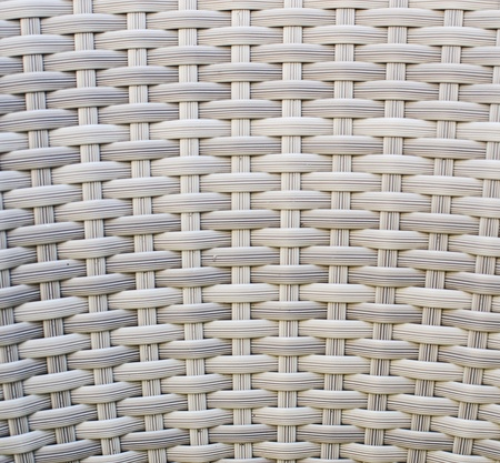 White wood wicker background photo