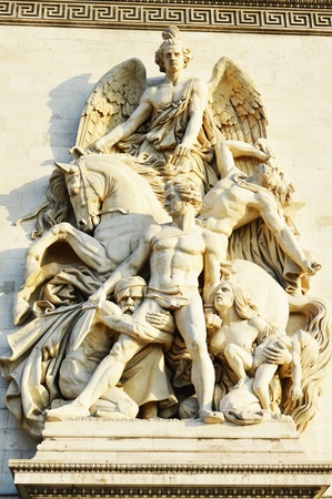 Details in the Arc de Triomphe - Paris photo