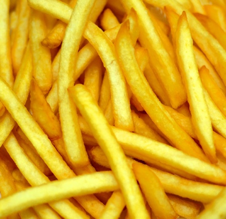 French fries background  Stock Photo - 16795544