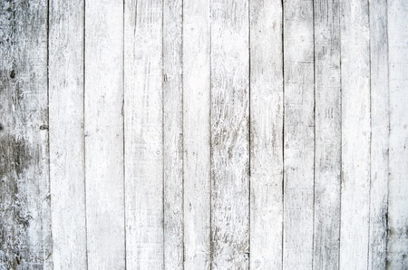 white wood floor: White wood background Stock Photo