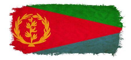 eritrea: Eritrea grunge flag