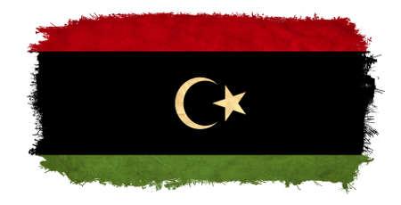 libyan: Libya grunge flag