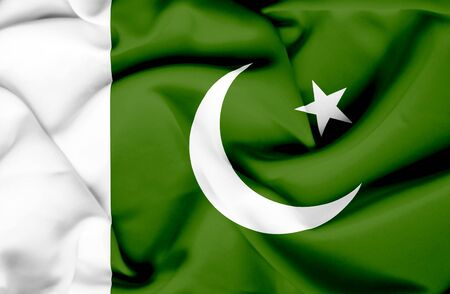 Pakistan Flag Waving Wallpaper Pakistan Waving Flag