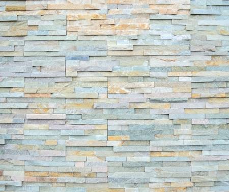 Modern stone wall background photo