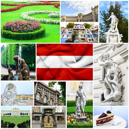 Austria collage photo