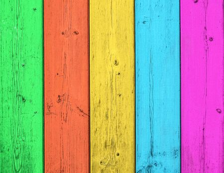 Color wood background Stock Photo - 18446327