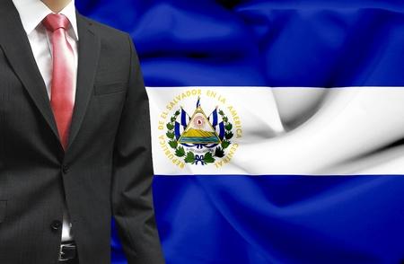 el salvador: Businessman from El Salvador conceptual image Stock Photo