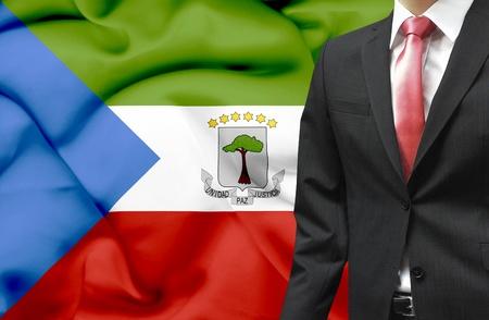 equatorial guinea: Businessman from Equatorial Guinea conceptual image Stock Photo