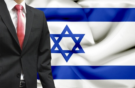 Businessman from Israel conceptual image Stock Photo - 18945297