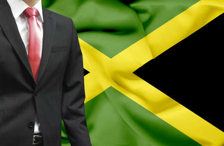 Businessman from Jamaica conceptual image photo