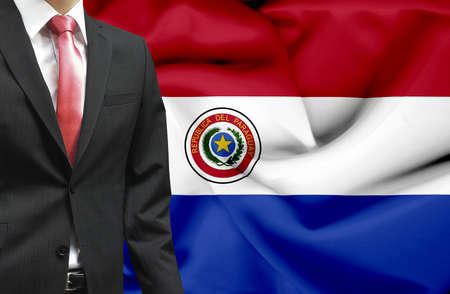 Businessman from Paraguay conceptual image Stock Photo - 18945369