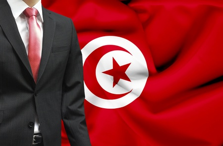 Businessman from Tunisia conceptual image photo
