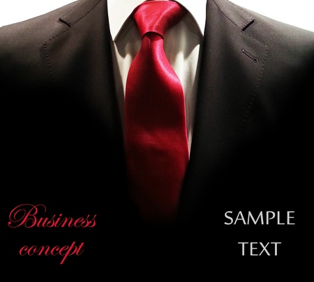 dinner wear: Businessman concept