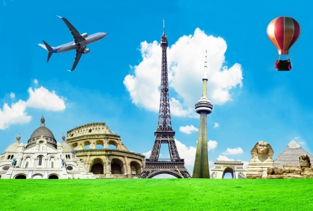 Travel the world conceptual image Stock Photo