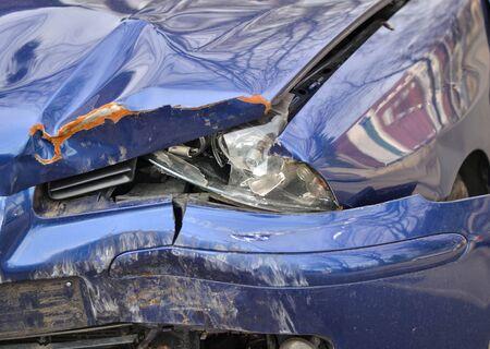 Crashed car Stock Photo - 19113522