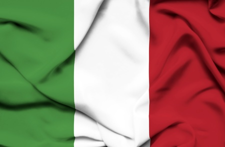 italien flagge: Italien winkenden Flagge