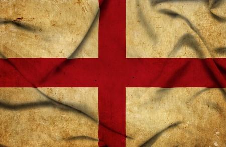 England waving flag photo