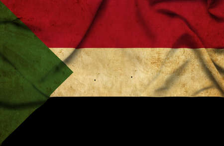 sudan: Sudan waving flag