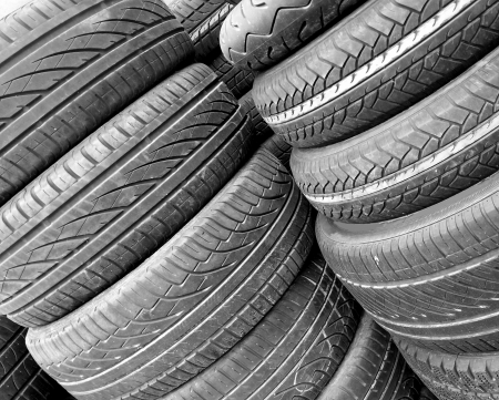 Tyres background photo