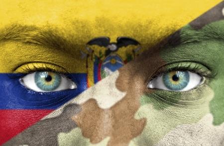 Soldado del Ecuador Foto de archivo - 20493009