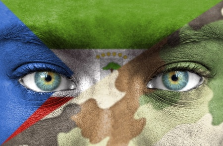 equatorial guinea: Soldier from Equatorial Guinea