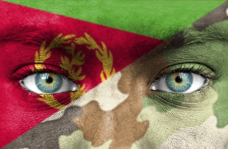 eritrea: Soldier from Eritrea Stock Photo