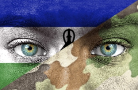 lesotho: Soldier from Lesotho