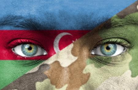 Soldier from Azerbaijan photo
