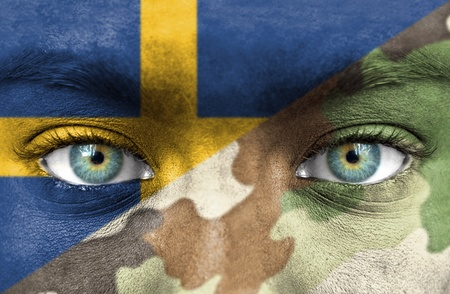 Soldier from Sweden photo