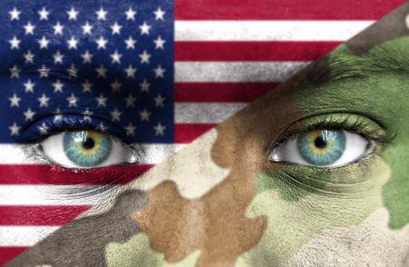 Soldaat uit Uinted Staten van Amerika Stockfoto
