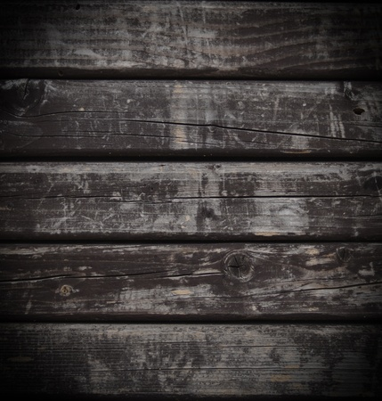 Dark grunge wood background photo