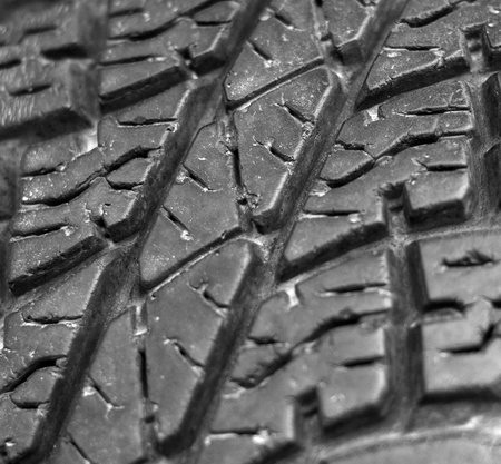 Close up of old car tire texture background Stock Photo - 21830263