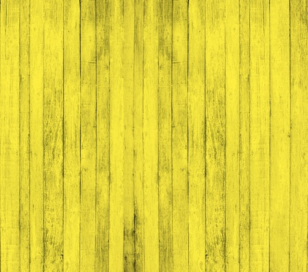 Yellow wood background photo