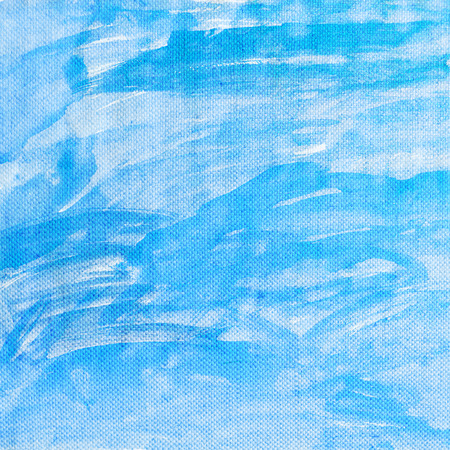 Blue canvas texture background photo