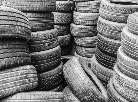 Group of tyres Stock Photo - 22281394