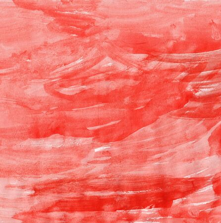 Red abstract watercolor background photo