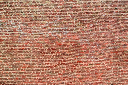 castle interior: Huge brick wall texture background Stock Photo