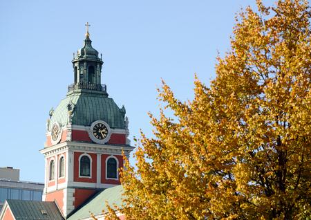 Saint James's Church in Stockholm Sweden Stock Photo - 23318324