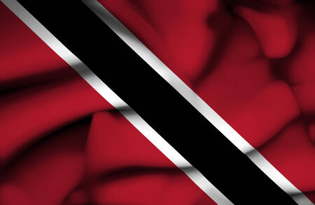 tobago: Trinidad and Tobago waving flag