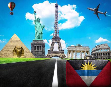 barbuda: Travel the world conceptual image - Visit Antigua and Barbuda