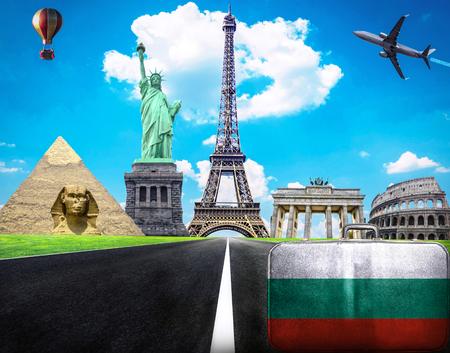 Voyage l'image conceptuelle du monde - Visitez la Bulgarie