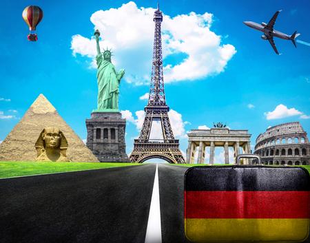 deutchland: Travel the world conceptual image - Visit Germany