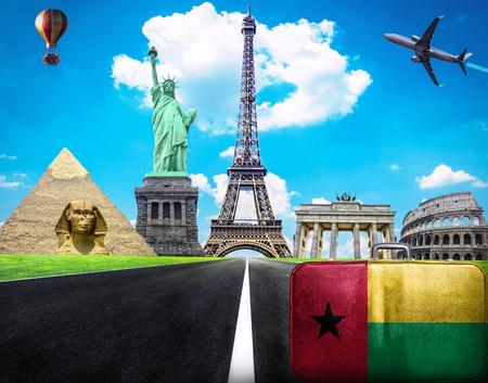 bissau: Travel the world conceptual image - Visit Guinea Bissau