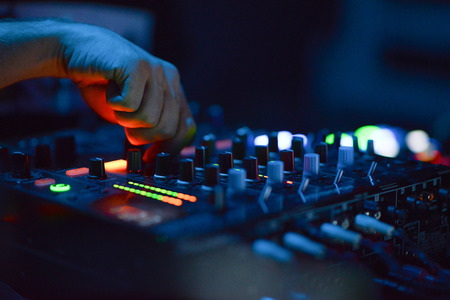 DJ Music night club photo
