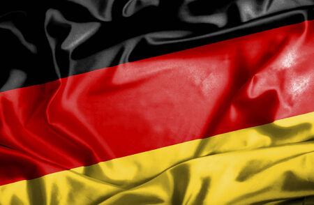 Germany waving flag photo