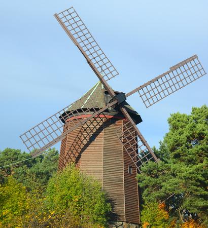 traditional windmill: Traditional windmill