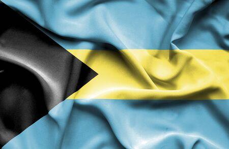 bahamas: Bahamas waving flag