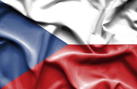 the czech republic: Czech Republic waving flag